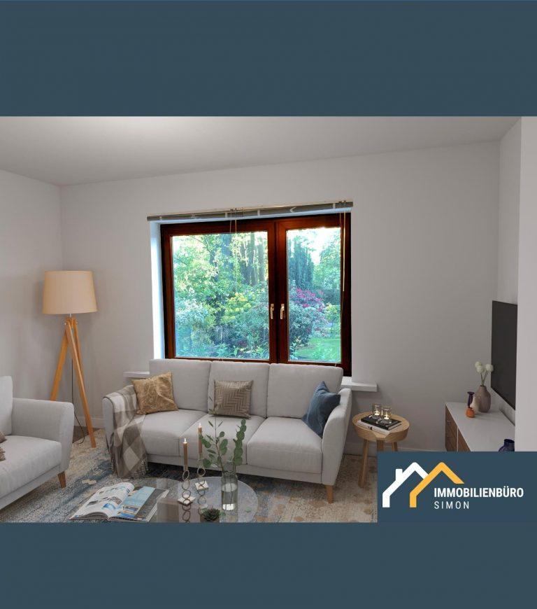 2 Zi Whg mit Terrasse in Hamburg com Immobilienbüro Simon Immobilienmakler in Tornesch